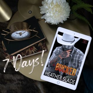 +🌟🔥🌟7 Days until Bucked🌟🔥🌟⠀ https://buff.ly/2I97kco⠀ The sixth book in the Invincibles series release January 14!⠀ ⠀ Pre-order for pre-release sale price of $3.99 (reg $4.99)⠀ _________________________________________________⠀ ⠀ He's a former CIA operative who juggles it all.⠀ She's a hard-core investigative reporter.⠀ Together, they're INVINCIBLE.⠀ ⠀ BUCK⠀ Heading called back to the ranch, after my dad dies, I know I have my work cut out for me. As a CIA operative, I can juggle it all. Always have. Always will. But when she needs my help, I can't possibly refuse. After all, she's the sexiest city slicker, this Buck has ever seen.⠀ ⠀ STELLA⠀ My heart and soul is in the city. The last place I ever saw myself was on a ranch, getting filthy, and smelling like a barn all day. But I need his help, and he needs mine—whether he realizes it or not. As for him, the most rugged and irresistible man I've ever known, I can make this sacrifice. After all, this city filly could use a BUCK of her own.⠀ ⠀ Cover image: FuriousFotog⠀ Cover model: Scott Benton⠀ ⠀ #heatherslade #preorder #theinvincibles #bucked #shameless #sexy #romanticsuspense #romance #suspense