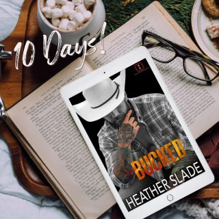 +❤️🔥🧡10 Days until Bucked🧡🔥❤️⠀ https://buff.ly/2I97kco⠀ The sixth book in the Invincibles series release January 14!⠀ ⠀ Pre-order for pre-release sale price of $3.99 (reg $4.99)⠀ _________________________________________________⠀ He's a former CIA operative who juggles it all.⠀ She's a hard-core investigative reporter.⠀ Together, they're INVINCIBLE.⠀ ⠀ BUCK⠀ Heading called back to the ranch, after my dad dies, I know I have my work cut out for me. As a CIA operative, I can juggle it all. Always have. Always will. But when she needs my help, I can't possibly refuse. After all, she's the sexiest city slicker, this Buck has ever seen.⠀ ⠀ STELLA⠀ My heart and soul is in the city. The last place I ever saw myself was on a ranch, getting filthy, and smelling like a barn all day. But I need his help, and he needs mine—whether he realizes it or not. As for him, the most rugged and irresistible man I've ever known, I can make this sacrifice. After all, this city filly could use a BUCK of her own.⠀ ⠀ Cover image: FuriousFotog⠀ Cover model: Scott Benton⠀ ⠀ #heatherslade #preorder #theinvincibles #bucked #shameless #sexy #romanticsuspense #romance #suspense